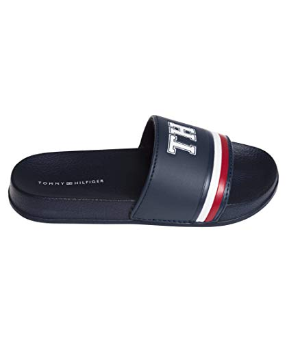 Tommy Hilfiger Kinder Badesandalen Pool Slide TH 1985