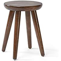 GJ-jiaodeng Round Wooden Support Fußhocker Change Schuh Small Hocker Dressing Hocker Fußstütze Sitz (größe : 31 * 40CM) preisvergleich bei kinderzimmerdekopreise.eu