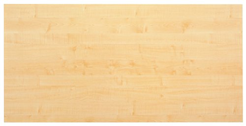 Unbekannt Konferenztisch - Platte (ohne Füße) KONTOR 160 x 80cm Ahorn