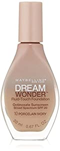 MAYBELLINE Dream Wonder Fluid Touch Foundation - Porcelain Ivory 10