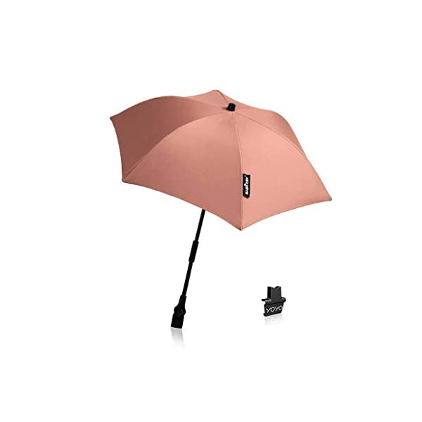 BABYZEN YoYo Stroller Parasol - Ginger BabyZEN The parasols can be connected to all YOYO versions (0+ or 6+) including the car seat. UPF 50+ protection and greater level of opacity, they fully protect babies from the sun. 1