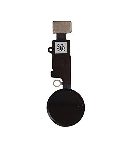 f41359c2ff0 Smartex Boton Home con Flex Cable de Repuesto Compatible con iPhone 7 –  Negro Pulsador Home