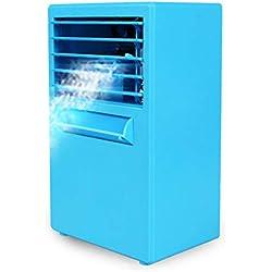 Refroidisseur D'air, Mini-climatiseur, Silencieux, 3 Vitesses, Humidificateur D'air Pour Le Bureau à Domicile