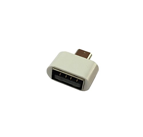 Cable Buddy Stylish Little OTG to USB 2.0 Adapter for Smartphones & Tablets- White  available at amazon for Rs.89