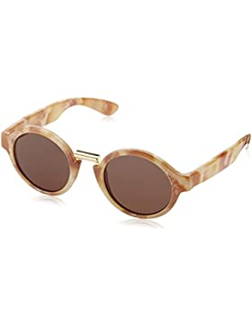 MR.BOHO, Marble hackney with classical lenses - Gafas De Sol unisex color beige, talla única
