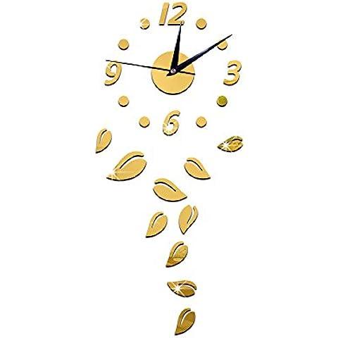FEI&S ANTECEDENTES sofá salón reloj de pared relojes tecnología digital espejos en las paredes ,reloj de pared #25
