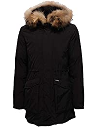 Woolrich 6189X Parka Bimba Girl fur Inside Black Piumino Jacket