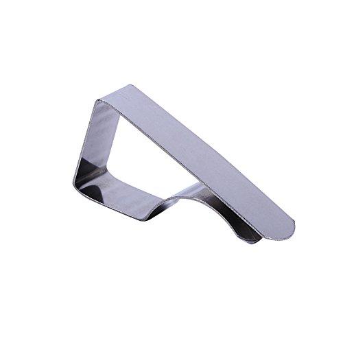 Garosa Packung mit 20 Edelstahl Tischdecke Clips Europäischen Stil Verstellbar Tischdecke Abdeckung Clip Haus Party Picknick Tischdeckenklemmen -