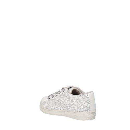 LULU Mädchen sneakers hellblau / Fuchsie / weiß / Gold beige Textil Weiß