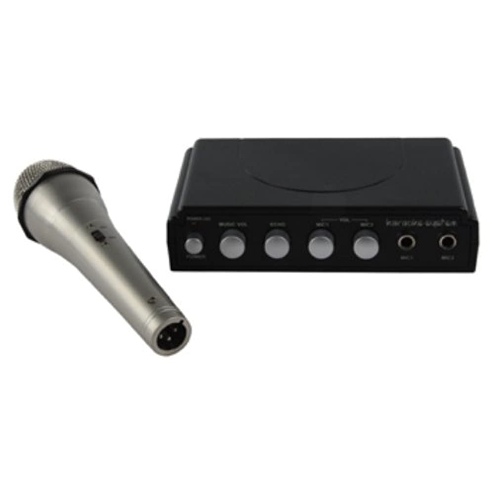 König HAV-KM10 Karaoke Mixer (2x Mikrofon)