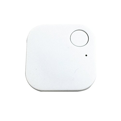 gps locator, Sannysis gps bicycle locator, gps locator keychain, GPS alarm trackers for kids, people, dogs etc - support IphoneIpad mini / Ipad air / 5 / 4 / 3 (White)