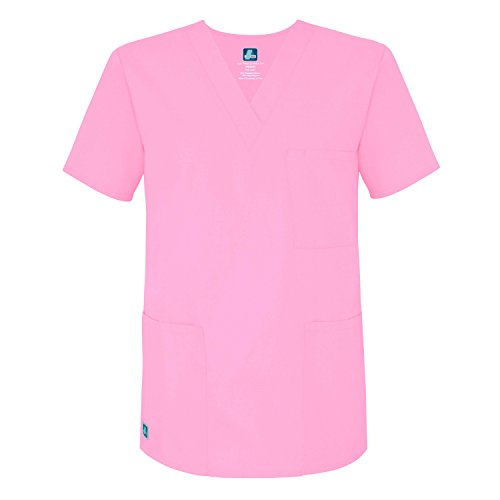 Medizinische Uniformen Unisex Top Krankenschwester Krankenhaus Berufskleidung 601 Color SBT   Talla: L (Kurzen Medizinische)