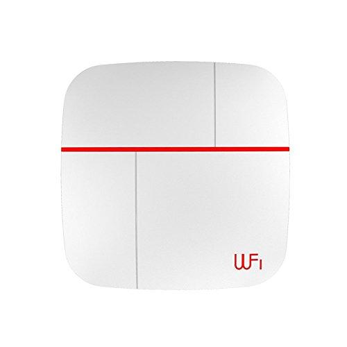 SZABTO Detector inal/ámbrico de puerta de ventana para el sistema de alarma Vcare Paquete de 6