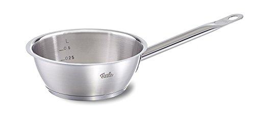 Fissler Sauteuse original-profi collection - Stielkasserolle klein, geeignet für alle Herdarten inkl. Induktion - spülmaschinengeeignet - 084-143-16-100/0 - Ø 16 cm - 0,9 L -