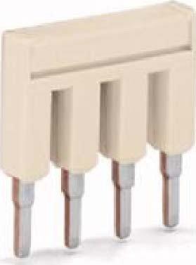 WAGO 2004–403Jumper Bar Electrical Box Accessory–Electrical Box Zubehör (16.5mm, 19mm, 4.1mm, 32A)