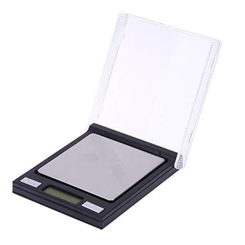 DuDuDu Digital échelle Mini CD Affaire Balance de Poche 0.01 g LCD de précision électronique Milligramme échelle pour Bijoux Laboratoire 100g/0,01 g