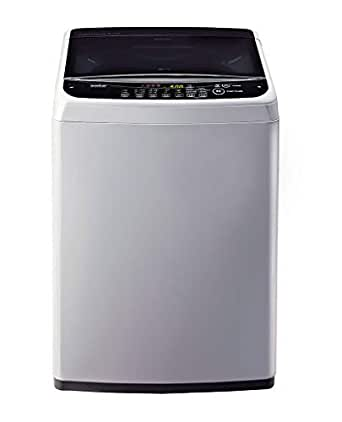 LG 6.2 kg Inverter Fully-Automatic Top Loading Washing Machine (T7281NDDLG/ T7288NDDLG/GD, Middle Free Silver)
