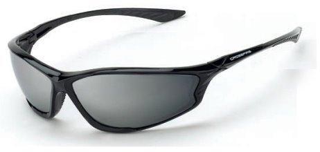 eb3e1dedbcbd Crossfire 3463 KP6 Safety Glasses Silver Mirror Lens - Shiny Black Frame by Crossfire  Safety Eyewear