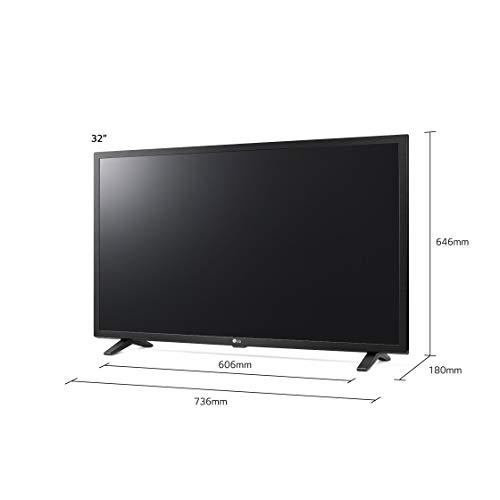 31x5Ec6iYaL. SS500  - LG Electronics 32LM630BPLA.AEK 32-Inch HD Ready Smart LED TV with Freeview Play - Ceramic Black Colour (2019 model)