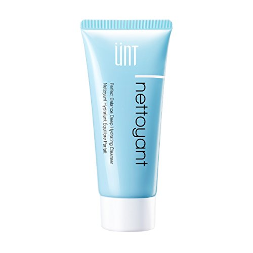 UNT AQUA NETTOYANT Perfect Balance Deep Hydrating Cleanser, 100% Soap-Free Formula, 23% Amino Acid, Best pH Level at 5.6, Natural Hydration with Damask Rose Water, For All Skin Types, 100ml - Aqua Rose Cleanser