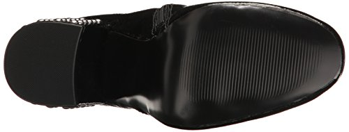 Steve Madden Womens Galley Ankle Bootie Black Patent