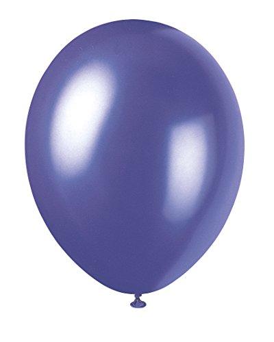 Unique Party Supplies Latex-Luftballons, 30,5cm, Perlglanzeffekt -