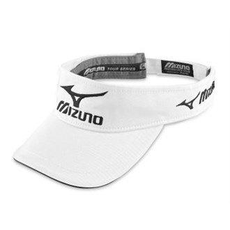 2014 Mizuno Tour Performance Funky Mens Golf Visor White