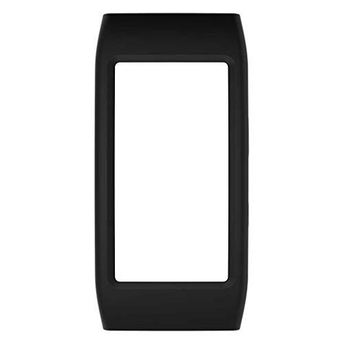 William-Lee Silikon-Schutzhülle für Samsung Gear Fit 2 Pro SM-R360 SM-R365 Schwarz
