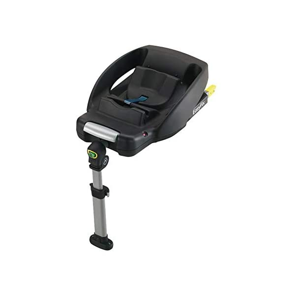 Maxi-Cosi CabrioFix Baby Car Seat Group 0+, ISOFIX, 0-12 Months, 0-13 kg, Frequency Black with Easyfix Car Seat Base, ISOFIX or Belted Installation for CabrioFix, 0-12 m, 0-13 kg Maxi-Cosi Optimal side impact protection: maxi-cost's side protection system technology features in the wings of the car seat to reduce the risk of injury in a side impact collision Click-and-go installation: quick and easy installation with any maxi-cosi base unit Used in combination with the Maxi-Cosi CabrioFix infant car seat 3