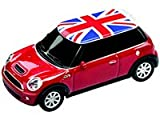 Autodrive Mini Cooper 4 GB USB-Stick im Auto-Design USB 2.0 rot mit Union Jack