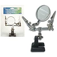 Velleman VTHH DUAL HELPING HAND + MAGNIFIER by Velleman