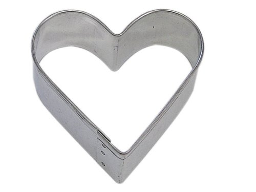 Heart Shaped 2 Inch Cookie Cutter