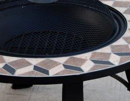 Feuerschale im Design-Stein-Dekor - 3