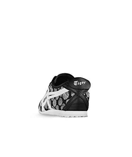Asics Mexico 66, Baskets Basses Mixte Adulte Noir