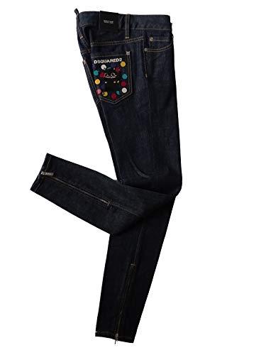dsquared damen jeans Dsquared2 - Damen Jeans - Medium Waist Skinny Jeans - Blue - Gr.IT 36