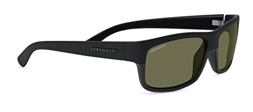 Serengeti martino occhiali da sole, lente: polarized 555nm, nero
