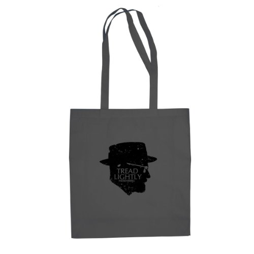 Tread Lightly - Stofftasche / Beutel Grau