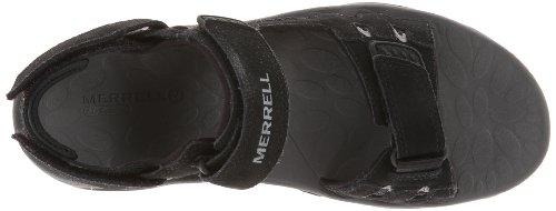 Merrell Moab Drift Strap, Sandali Sportivi Uomo Nero (Nero (nero))