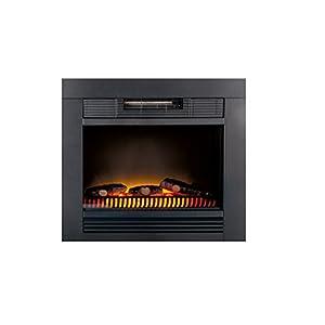 Classic Fire 'Chicago' – Calefactor eléctrico con iluminación led – 1800W