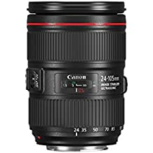 Canon EF 24-105mm f/4L IS II USM - Objetivo Canon EF 24-105mm f/4L IS II USM, negro