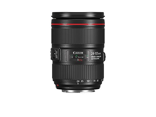 Canon EF 24-105mm f/4L IS II USM – Objetivo Canon EF 24-105mm f/4L IS II USM, negro