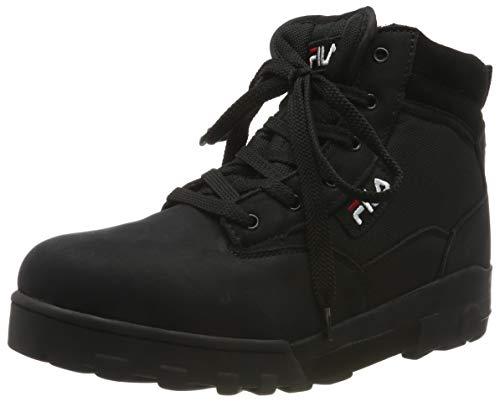 Fila Grunge mid, Herren  Hohe Sneaker, Schwarz (Black 25Y), 43 EU (9 UK)