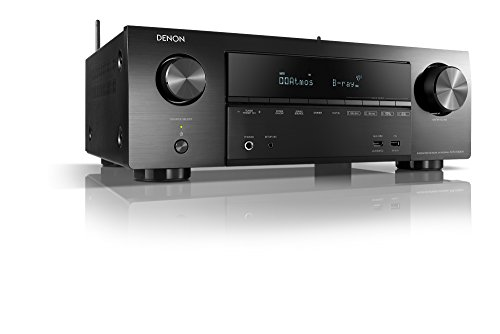 Denon AVR- X1500H -  Receptores Audio/Video de Alta definición,  Color Negro