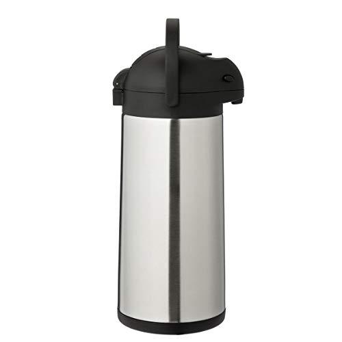 METRO Professional Airpot Pumpkanne | 3 Liter | Isolierkanne | Thermoskanne | Getränkespender | auch für den gewerblichen Einsatz | Edelstahl | Kaffeekanne