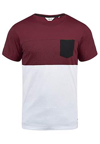 2f4af49654faa3 Solid Kold Herren T-Shirt Kurzarm Shirt Mit Streifen Und Rundhalsausschnitt  100{68cf96c49105ebbb3b0b318a49bd4c8845b6f475525f241273319dd88cbe3b0a}  Baumwolle, ...
