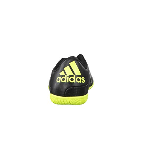 adidas X 15.4 IN  Indoor Unisex-Kinder Fußballschuhe CBLACK/SYELLO/NGTMET