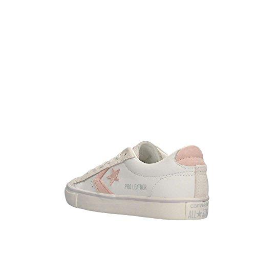 Converse Vulc Ox - Sneakers Basse Bianco/Rosa White Dusk
