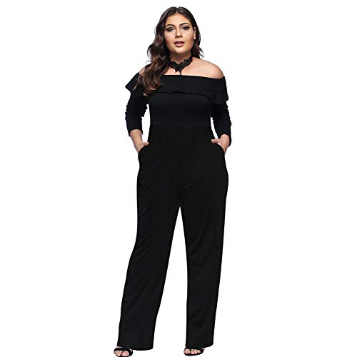Lover-Beauty Overall Damen Hosenanzug 2 Stück Outfit Spaghetti Strap Crop Top Hose mit Gürtel