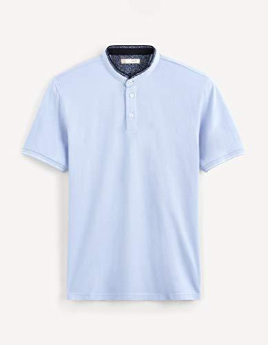 Celio Herren Nebimao Poloshirt, Blau (Baby Blue Baby Blue), Medium