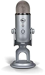 Blue Microphones Yeti USB Microphone, Silver
